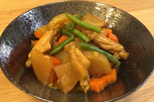 鶏と大根の和風カレー煮込み