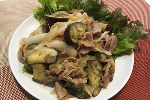 黄金生姜の豚味噌焼き