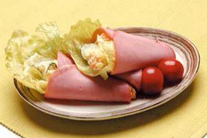 ハム巻ポテトサラダ