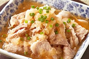 豚肉のおろし煮